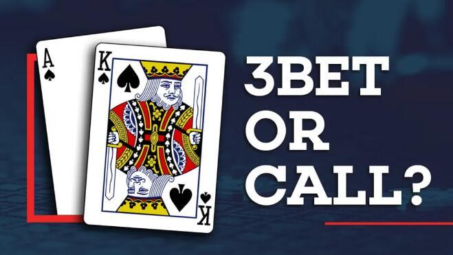 【PokerStars】翻前的AK该如何行动?跟注还是加注?