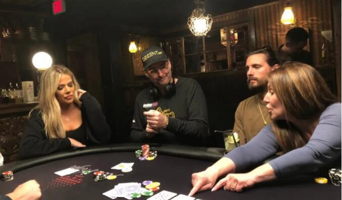 【PokerStars】卡戴珊从Phil Hellmuth那里得到了一堂扑克课