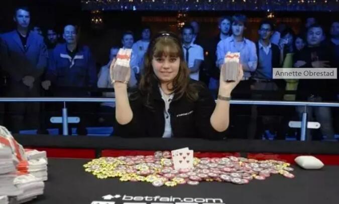 【PokerStars】WSOP最年轻女冠军Annette Obrestad