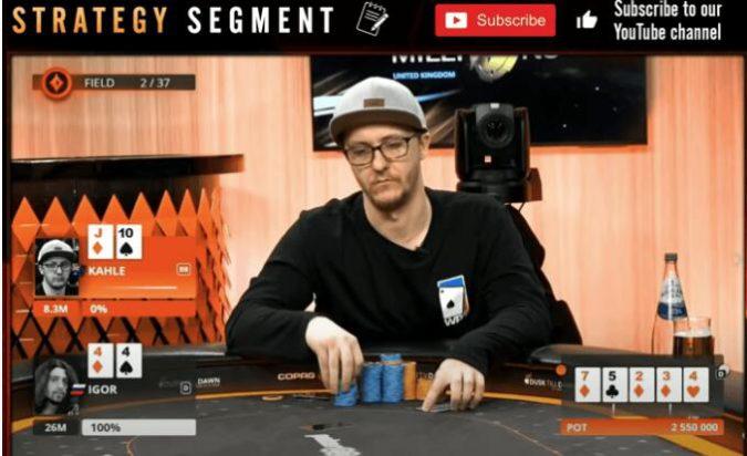 【PokerStars】Jonathan Little谈扑克:暗三条被对手推一脸 接不接?