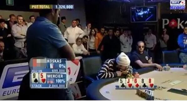【PokerStars】这个技惊四座的壮烈跟注,见证了一位锦标赛大神的诞生