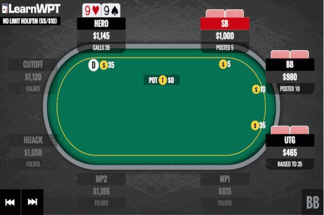 【PokerStars】翻牌击中顶暗三,慢玩诱敌为上策?